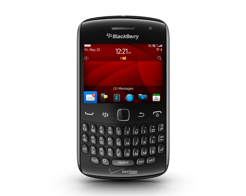 BlackBerry Curve 9360 Front_H4web