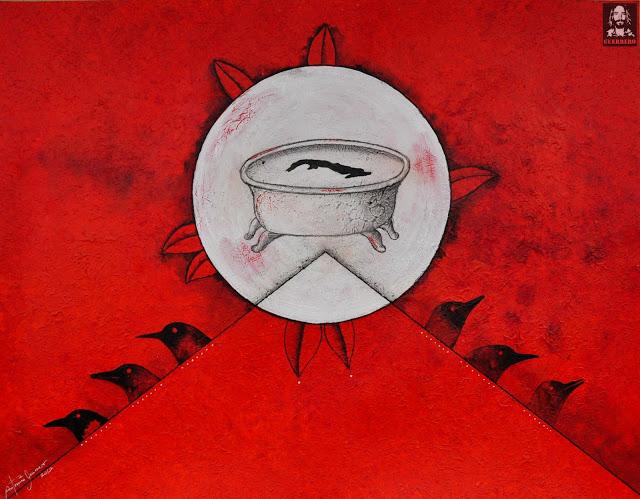 Isla de cuba, art on cuba, art news,Red Art,Antonio Guerrero, Cuban Artist, Cuban Art, Red Planet,Cuban Masters,Art by Antonio Guerrero, The Cuban Art Project, Art News, Contemporary Art,Cuba, Arte Cubano.