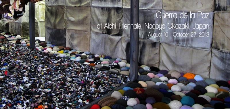 Guerra de la Paz, Aichi Triennale, Nagoya-Okazaki, Japan