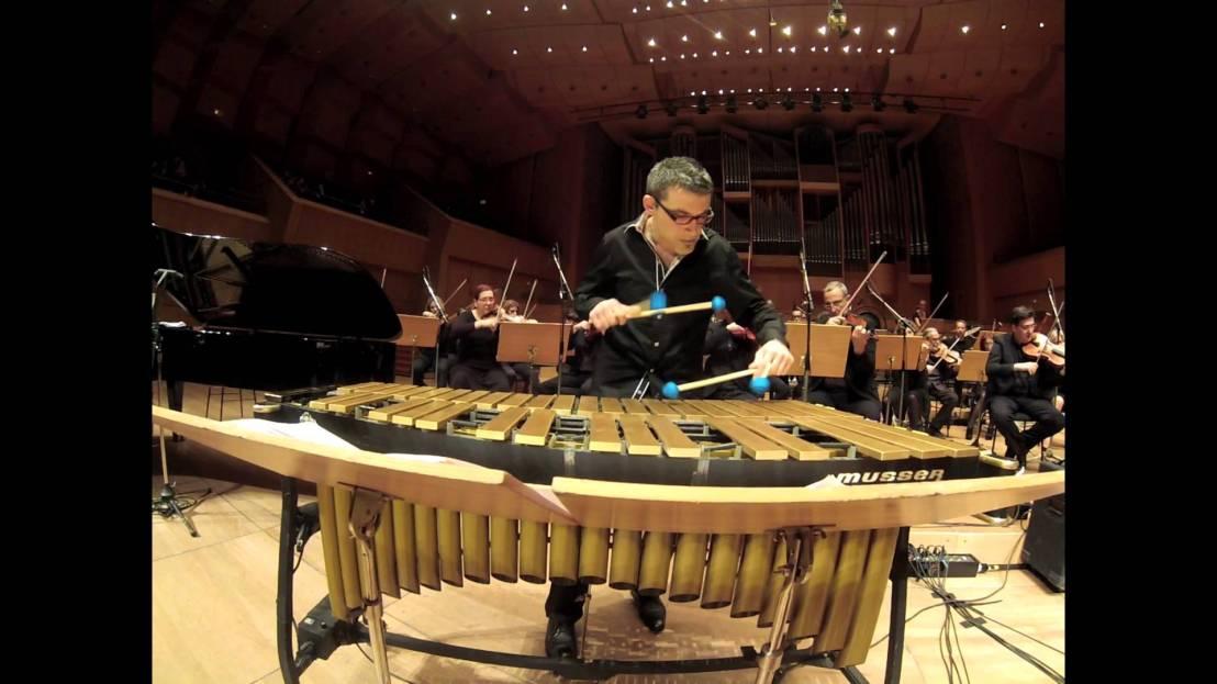 Vibrafonista Christos Rafalides en Jazz at Wolfson Presents del Miami Dade College el 8 deabril