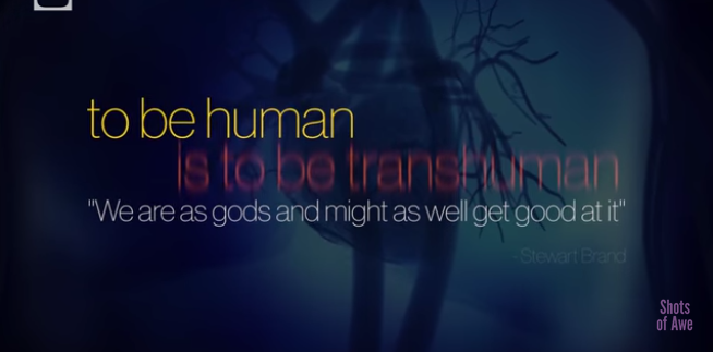 "Shots of Awe ""To Be Human Is To Be Transhuman"""